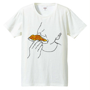 [Tシャツ] Calorie over 2 / pizza