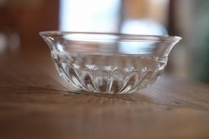 【カンナカガラス工房◆村松学】◆◆◆重ねモール鉢*透明◆◆