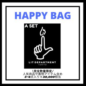 【完全数量限定】LIT DEPARTMENT HAPPY BAG A SET LD9977