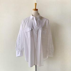 SYSORUS ボタンスリーブワークシャツ 46921
