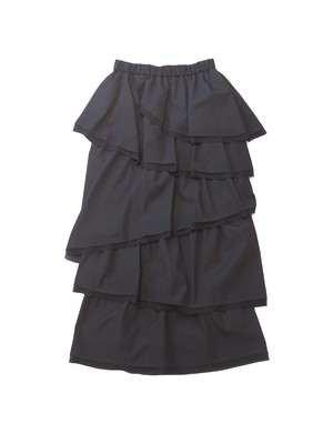 【ELIN】Grosgrain layered skirt