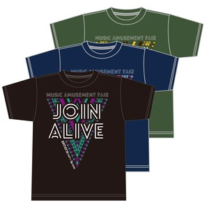 JOIN ALIVE 2017 TシャツE