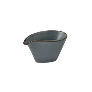 「翠 Sui」片口小鉢 幅約10cm 空色ねず 美濃焼 288059