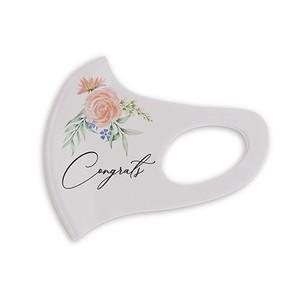 デザインマスク1枚   Flower(Congrats)
