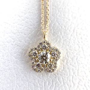ハート&キューピッド ダイヤモンド  ペンダント  0.20ct K18イエロー/ピンク/ホワイトゴールド チェカ