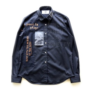 anarchy shirt 049 (black riot)