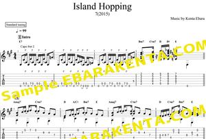 「Island Hopping 」TAB譜