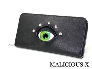 eye wallet / green(safiano)