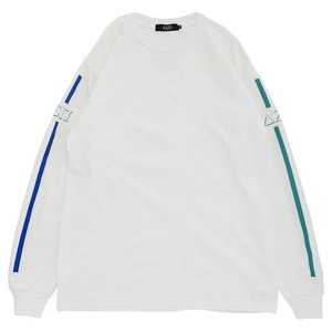 Stripes L/S Tee (White 1)