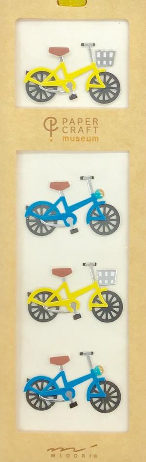シール PCM モチーフ 自転車柄 A(82412006)