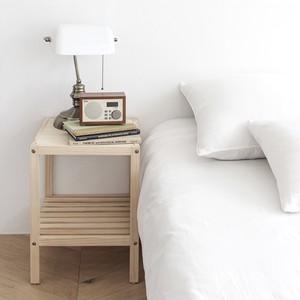 simple wood side table B / シンプル ウッド サイドテーブル 原木 木製 韓国 北欧 雑貨