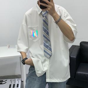 リフレクタープリントシャツ