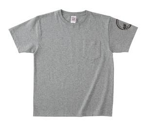 【鳥淵 杏奈】「黄昏ビーチ」Tシャツ グレー