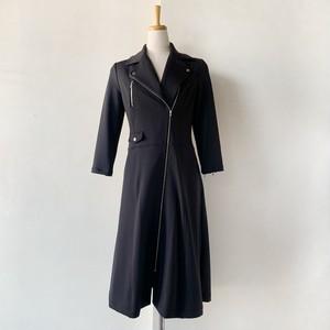 ラスト一点!Double Standard Clothing×akko3839 コンフォート ストレッチコートワンピース 0501310211