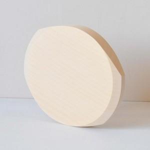 ヨシタ手工業デザイン室 てがかり いちょうのまな板(まる型 小)