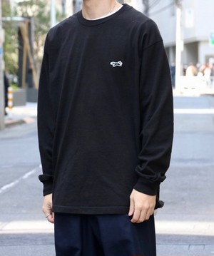 "PENNEY'S / ぺニーズ | "" THE FOX BASIC CREW LS TEE "" - black"