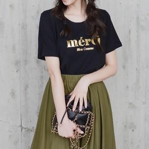 merci Tシャツ/BK