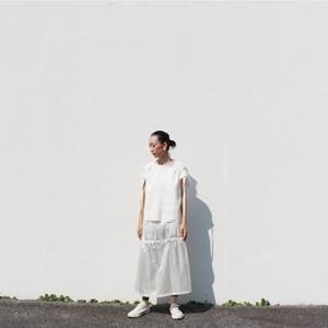 【NEW】bymo  ドローコードロングスカート
