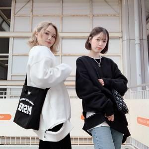 [即納]韓国ファッション ヘムZIPデザイントレーナー