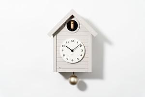 〈NEW〉鳩時計 Cuckoo CLOCK 【WARM GRAY】