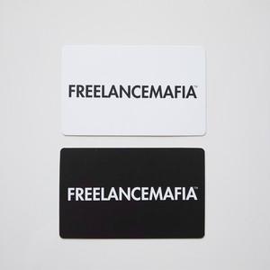 FREELANCEMAFIA ロゴカード【2枚セット】
