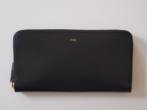 【i ro se】POP-UP LONG WALLET 長財布 BLACK