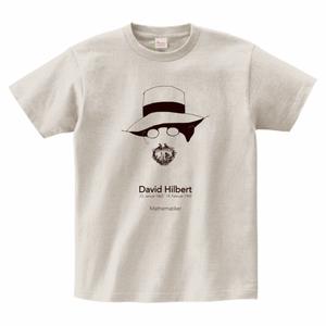 ダフィッド・ヒルベルトTシャツ_オートミール/David HIlbert T-shirt (Oatmeal)