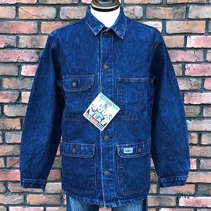 1980s Dead Stock U.K. Levis Work Wear Stone Washed Denim Jacket