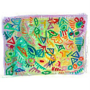 【原画】textile/思考