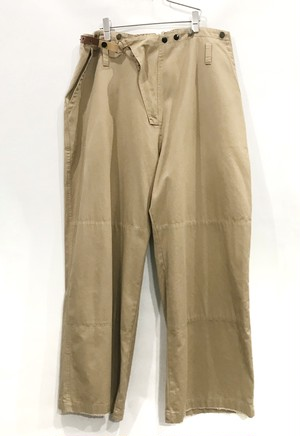 "keisuke yoneda super wide military pants  ""Paul   beige"