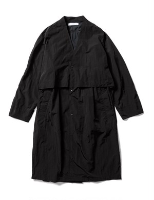 VENTILATION NYLON COAT -BLACK- / Sasquatchfabrix.