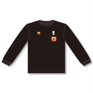 O.V. T-Shirts(Long Sleeve/BLACK)