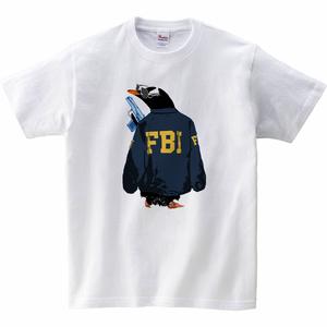 [キッズTシャツ] FBI penguin