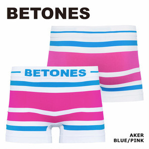 【BETONES】AKER BLUE×PINK / AKER-B001-1 ビトーンズ メンズ ボクサーパンツ