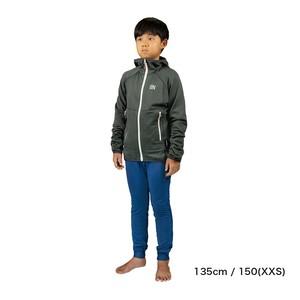 Kids / UN2100 Light weight fleece hoody / Charcoal