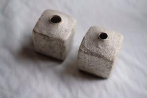 大森健司/白土の花器