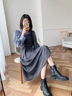 レディライクサスペンダースカート 【lady like suspender skirt】