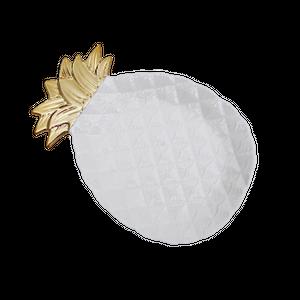 Gold pineapple plate  / ゴールドパイナップル プレート