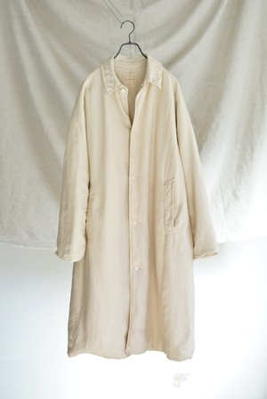 Chez VIDALENC - Bobi Coat Long Silk Fill Cotton
