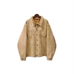 USED - Fake Suede Boa Jacket ¥16000+tax → ¥11200+tax