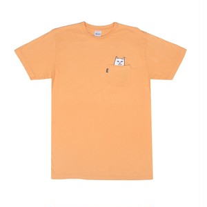 RIPNDIP - Lord Nermal Pocket Tee (Over Dyed Orange)