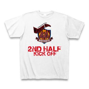 Tシャツで還暦を祝おう!還暦サッカーTシャツ白