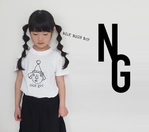 キッズTシャツ nice girl