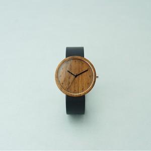 Walnut wood - Black - L