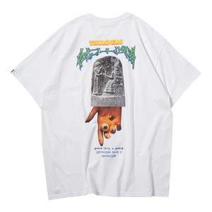 HAMMURABI POCKET S/S TEE(WHITE)[TH9S-002]