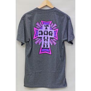 【ドッグタウン】クロスロゴカラーTシャツ チャコール