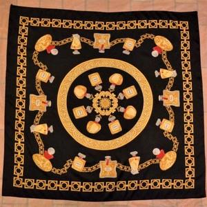 Perfume pattern scarf 香水柄スカーフ
