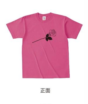 ★受注販売★ 復刻「ROSE」セミオーダーT-shirts [ボディカラー:アザレア] (7月下旬から順次発送開始予定)