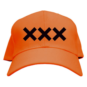 ERICH / XXX LOGO CAP ORANGE