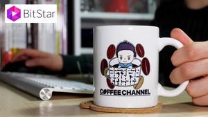 KAZUMAXのコーヒーチャンネルマグカップ